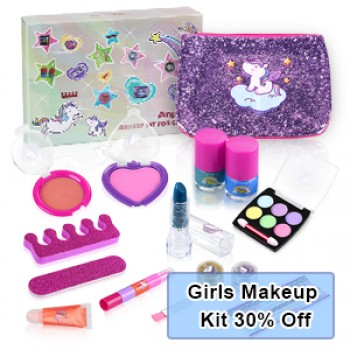 Anpro 15pcs Girls Makeup Kit, Toys for Girls Promotion, Welcome to  Purchase
